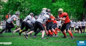 Bandits vs Wolves - американский футбол в Киеве