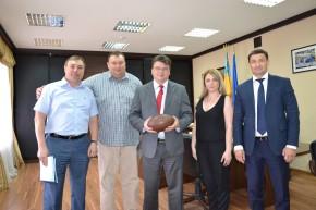 Співпраця НФАФУ з Міністерством молоді та спорту України