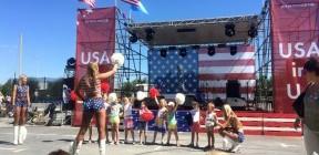 Американський футбол на фестивалі американської культури в Україні